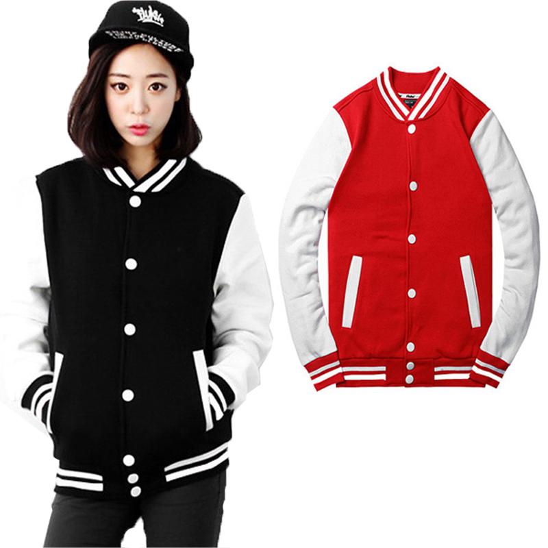 Baseball jacket casacos femininos college jackets Harajuku style women jacket 2015 new autumn winter coat Jackets free shipping(China (Mainland))