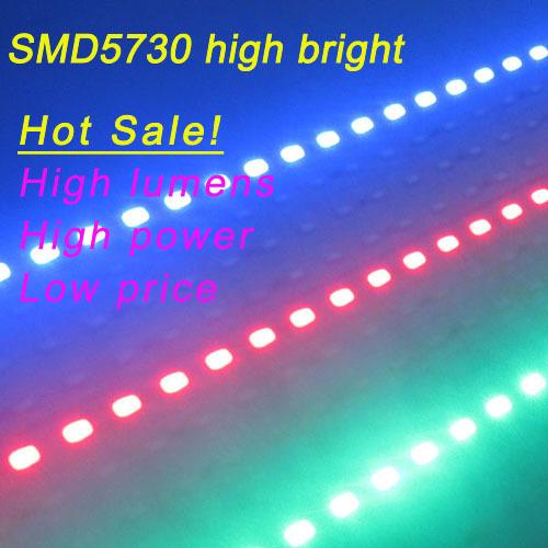 hot sales10pcs Super Bright Hard Rigid Bar light DC12V 50cm 36 led SMD 5730 Aluminum Alloy Led Strip light,red,blue,green color(China (Mainland))