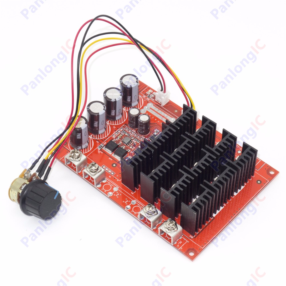 NEW 10-50V 60A DC Motor Speed Control PWM HHO RC Controller 12V 24V 48V 3000W MAX High Quality Free Shipping(China (Mainland))
