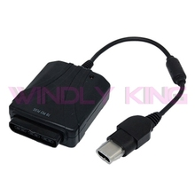 10pcs a lot Game Controller Adapter for PS2 To for Xbox