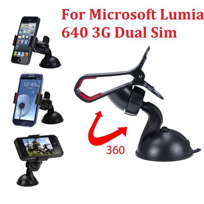 New Mobile Phone GPS Car Holder Mount Holder for Microsoft Lumia 640 3G Dual Sim phone car holder nexus free shipping(China (Mainland))