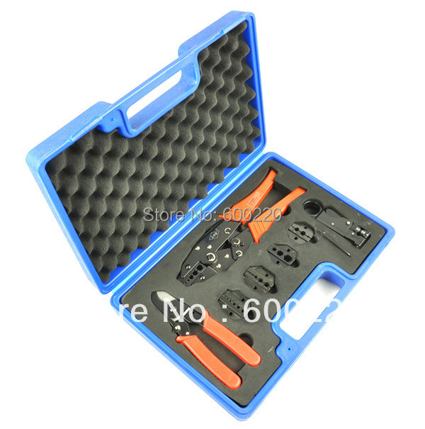 LS-05H-5A2 Combination tool set for TV cables, contains coaxial cable crimping tool BNC crimping tool set(China (Mainland))