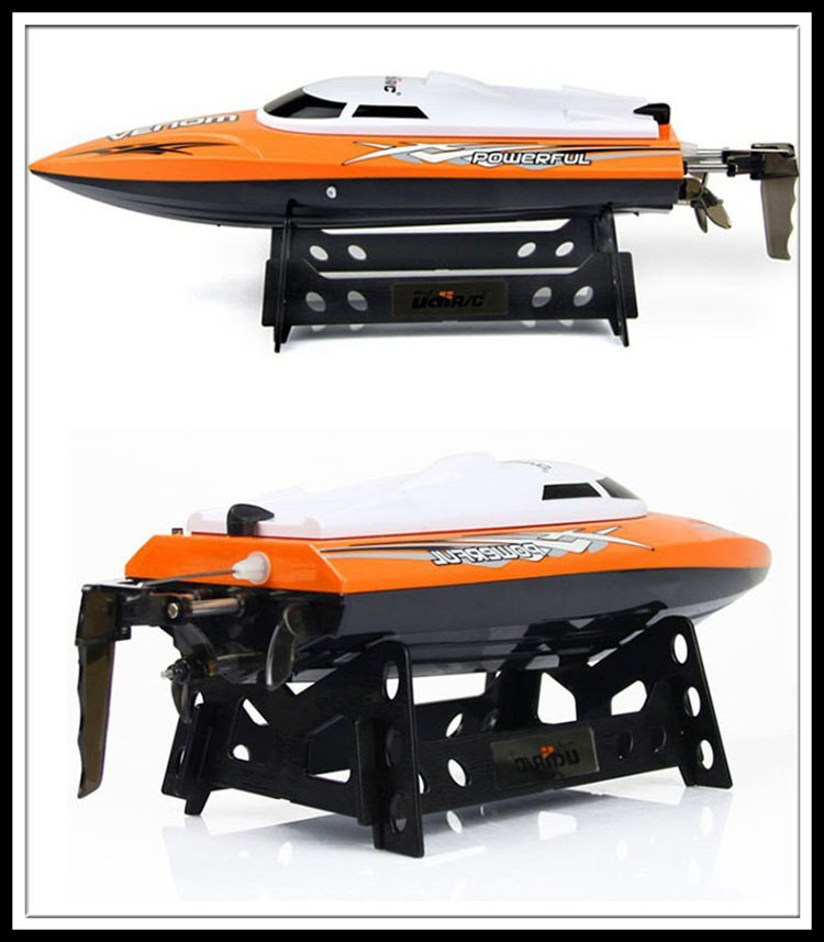 2015 new UDI001 bateau one propeller Remote control boats remote control toys 2.4GHz 4CH Water Cooling High Speed RC Boat WU515