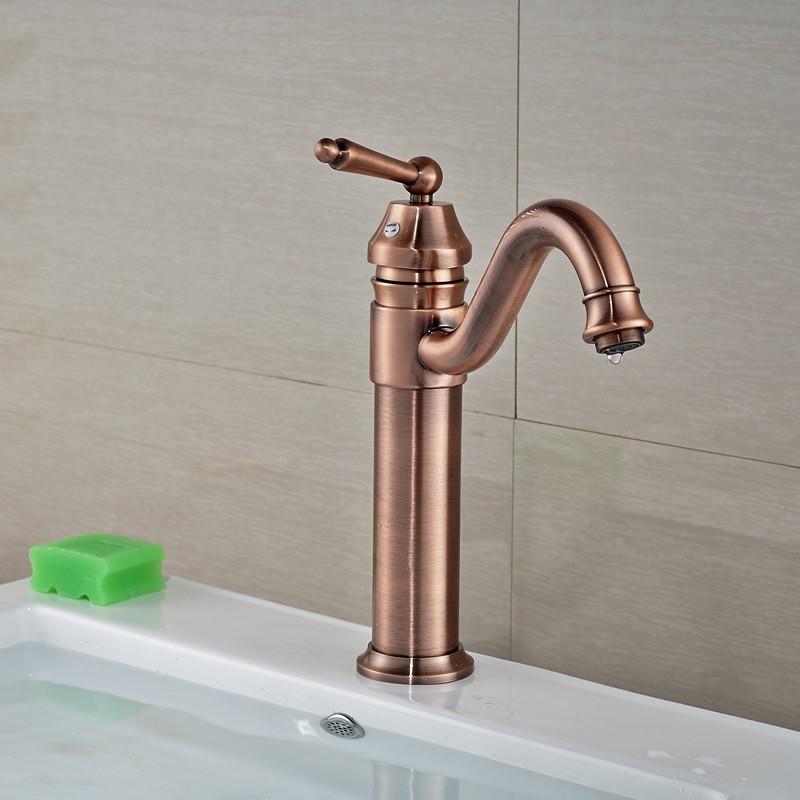 Купить 3-цветной Одной Ручкой Ванной Смесители Центровой Одно Отверстие Горячей и Холодной Воды Бассейна Кран