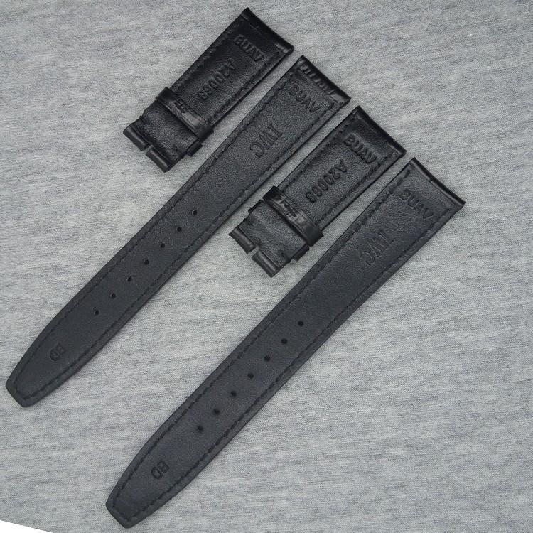 До запястья ремешок для часов аксессуары аллигатор зернистость мужчины бренд часы ремешок 20 мм замена браслеты для спорт часы