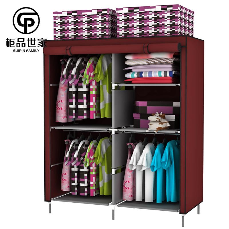 Canvas Wardrobe Closets Closet Storage Organization