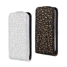 New Retro Book Luxury Vintage Royal PU leather Case for Apple iPhone 4 4g 4s  Flip Vertical Mobile Cell Phone Bag Cover Case(China (Mainland))