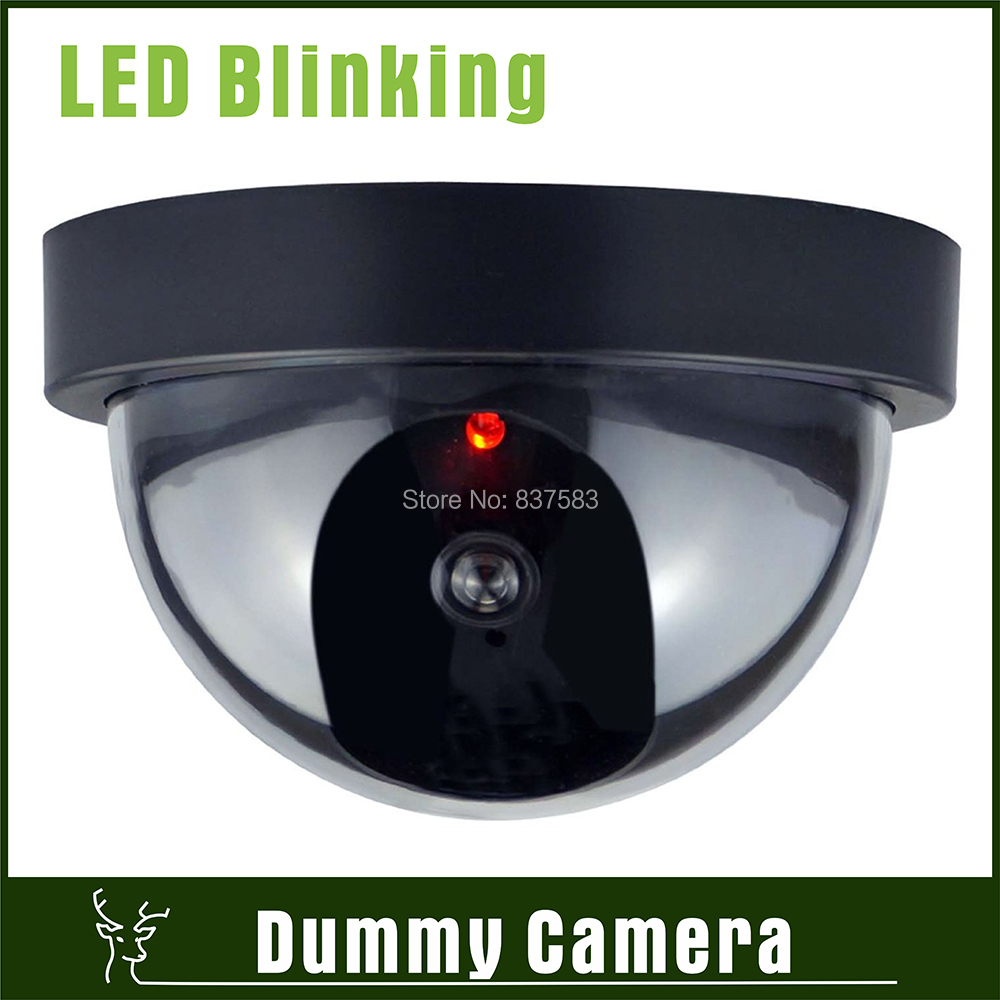 Wireless Fake Camera Surveillance Home Decoy IR Blinking Led Dome Dummy CCTV Security Emulational - Green Deer's Store store