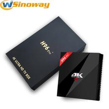 Buy New H96 PRO+ TV Box Android 6.0 Amlogic S912 Octa Core 3GB/32GB 2.4G/5.8G WiFi KODI 16.1 Smart TV Box H96 PRo plus Media Player for $59.98 in AliExpress store