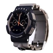 Здоровье смарт часы телефон водонепроницаемый компас WA10 Smartwatch Inteligente Reloj спать мониторинга сидячий напомнить с шагомер
