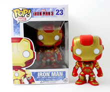 Funko POP the Avengers figure 10cm/4″ PVC Action Figure iron man cute toys hot selling