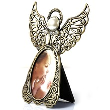 Classic Alloy Photo Fame Angel Desktop Frame Decoration Picture Frame Home Decoration(China (Mainland))
