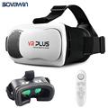 VR Box 3 Plus 3 0 iii Virtual Reality Helmet 3D Glasses Coating Glass Lenses vrbox