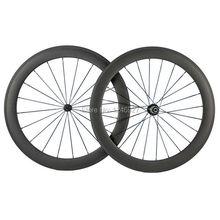 100% Carbon Fibre 60mm Clincher Carbon Wheelset 23mm Width Powerway R13 Black Hub With Matte Finsh Road Wheel(China (Mainland))