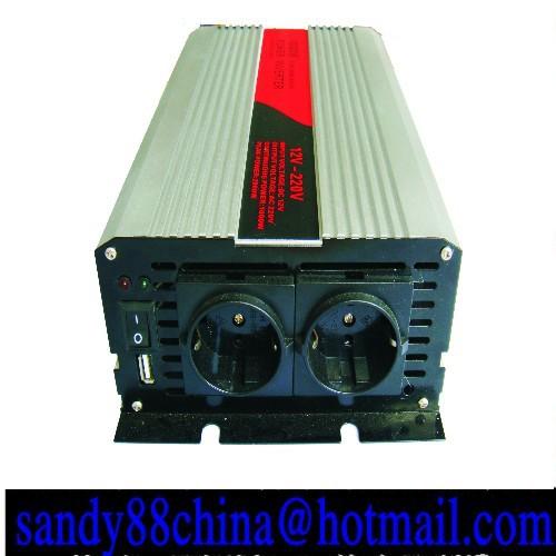 12v 2000w inverter home inverter car inverter pure sine wave Free Shipping(China (Mainland))