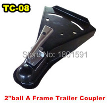 """wholesale New Trailer parts American  2"""" Ball Trailer Hitch Coupler ,A Frame  Trailer Coupler   SAE Class  III  for TC-08(China (Mainland))"""