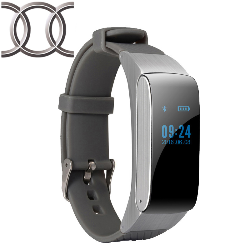 Bluetooth Smart Band DF22 Talk band Portable Bracelet Pedometer Activity Fitness Tracker for IOS Android phone PK mi band 2(China (Mainland))