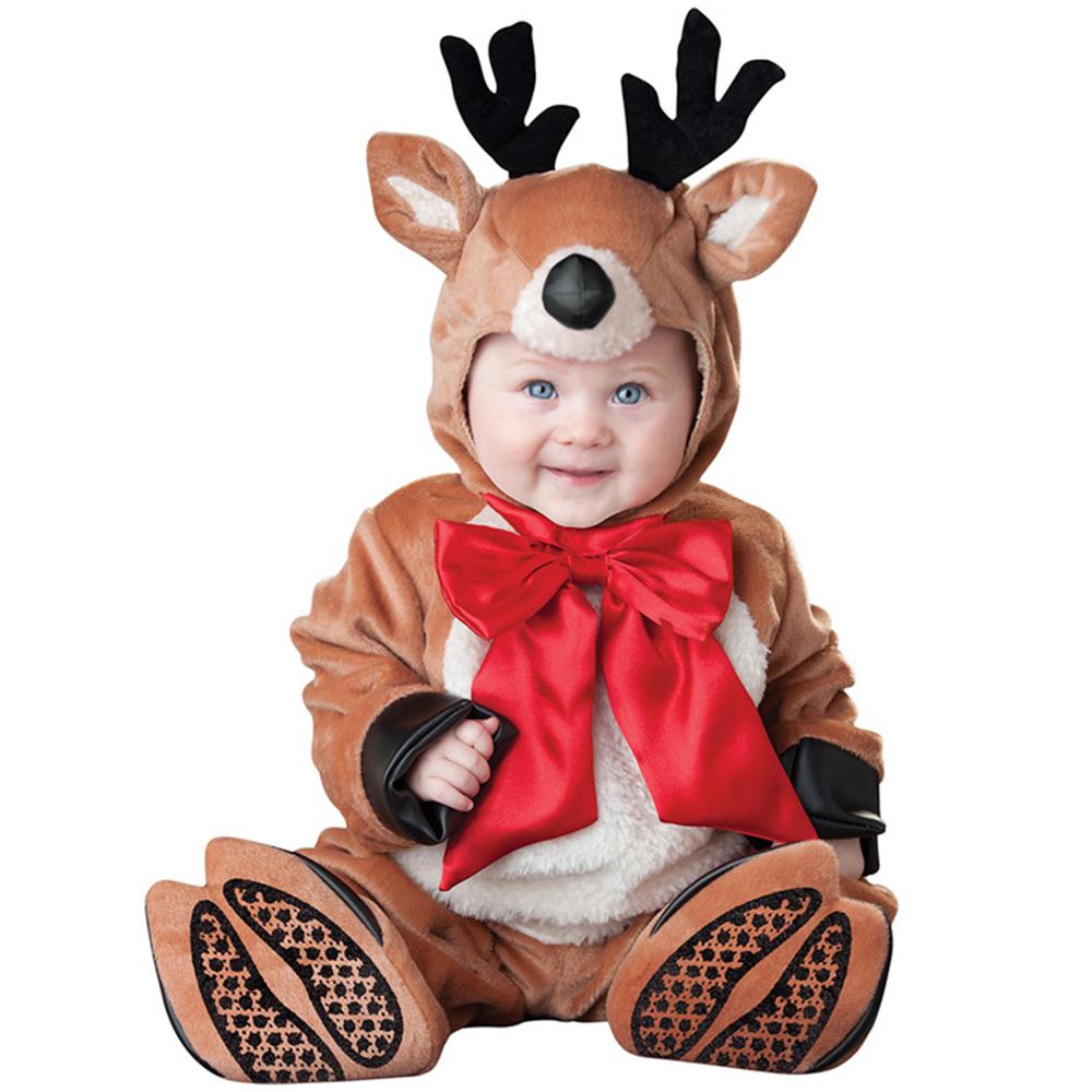 2015 New born boys baby halloween costume deer cosplay ...
