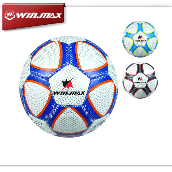 2015 Free Shipping Winmax Casual Brand Machine Stitched Soccer Ball Official Paintless Football Ball(China (Mainland))