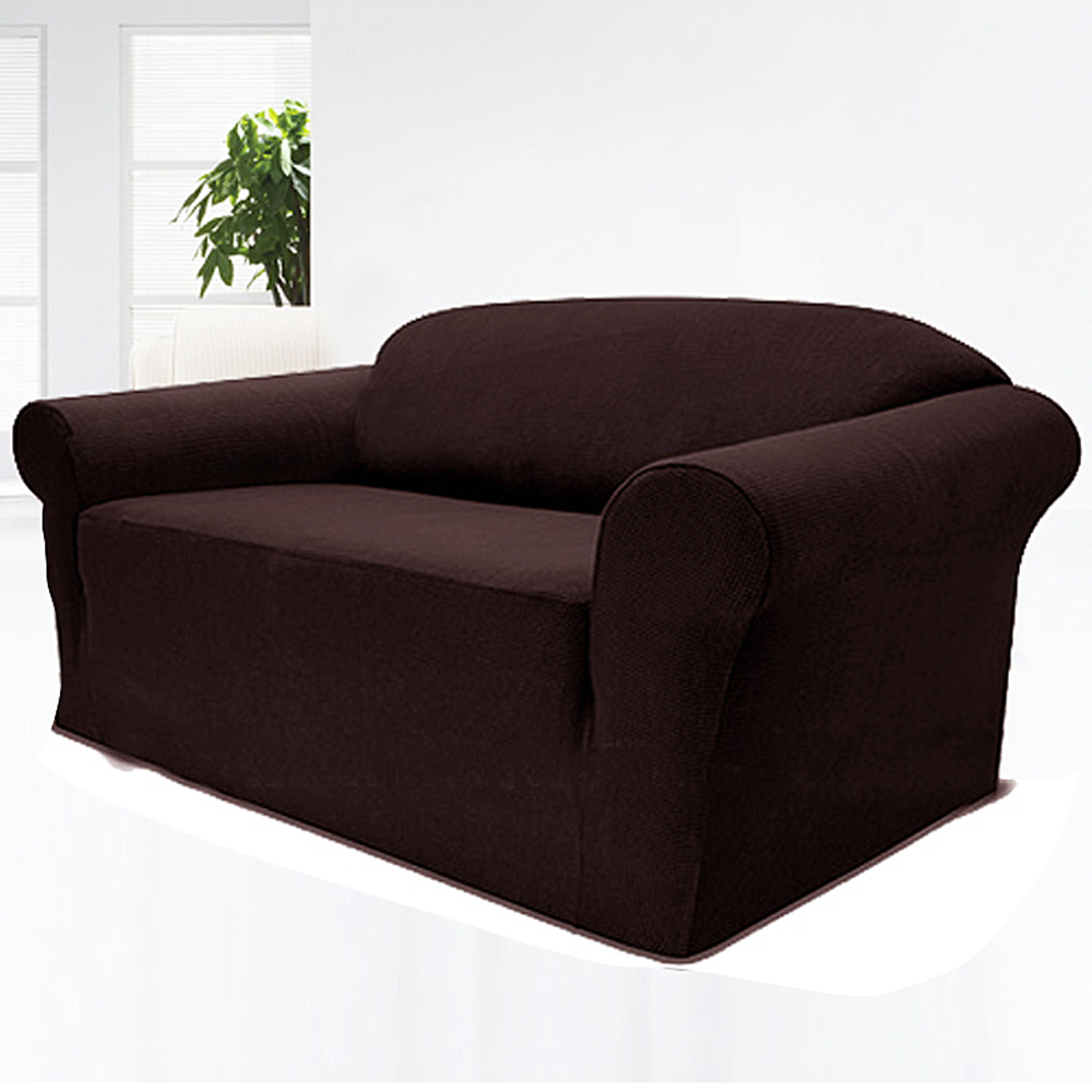 Canap extensible pr sident couch cover housse de for Housse causeuse extensible