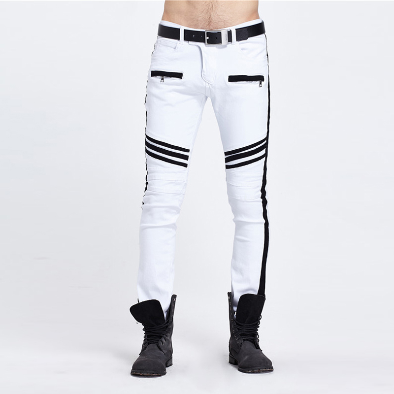 Online Get Cheap Skinny Legs White Pants Men -Aliexpress.com ...