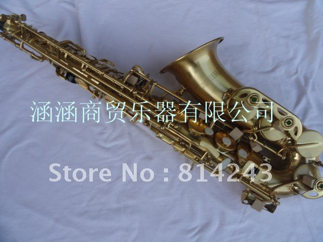 Wholesale Have to look very beautiful bronze brushed Alto Saxophone<br><br>Aliexpress