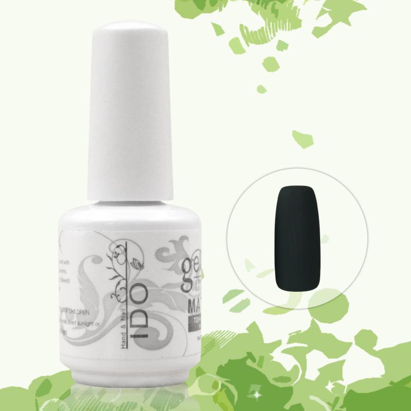 12pcs DHL Free Shipping  Kits Uv Matte Top coat  gel nail uv set gel nail polish color chart  French manicure<br><br>Aliexpress