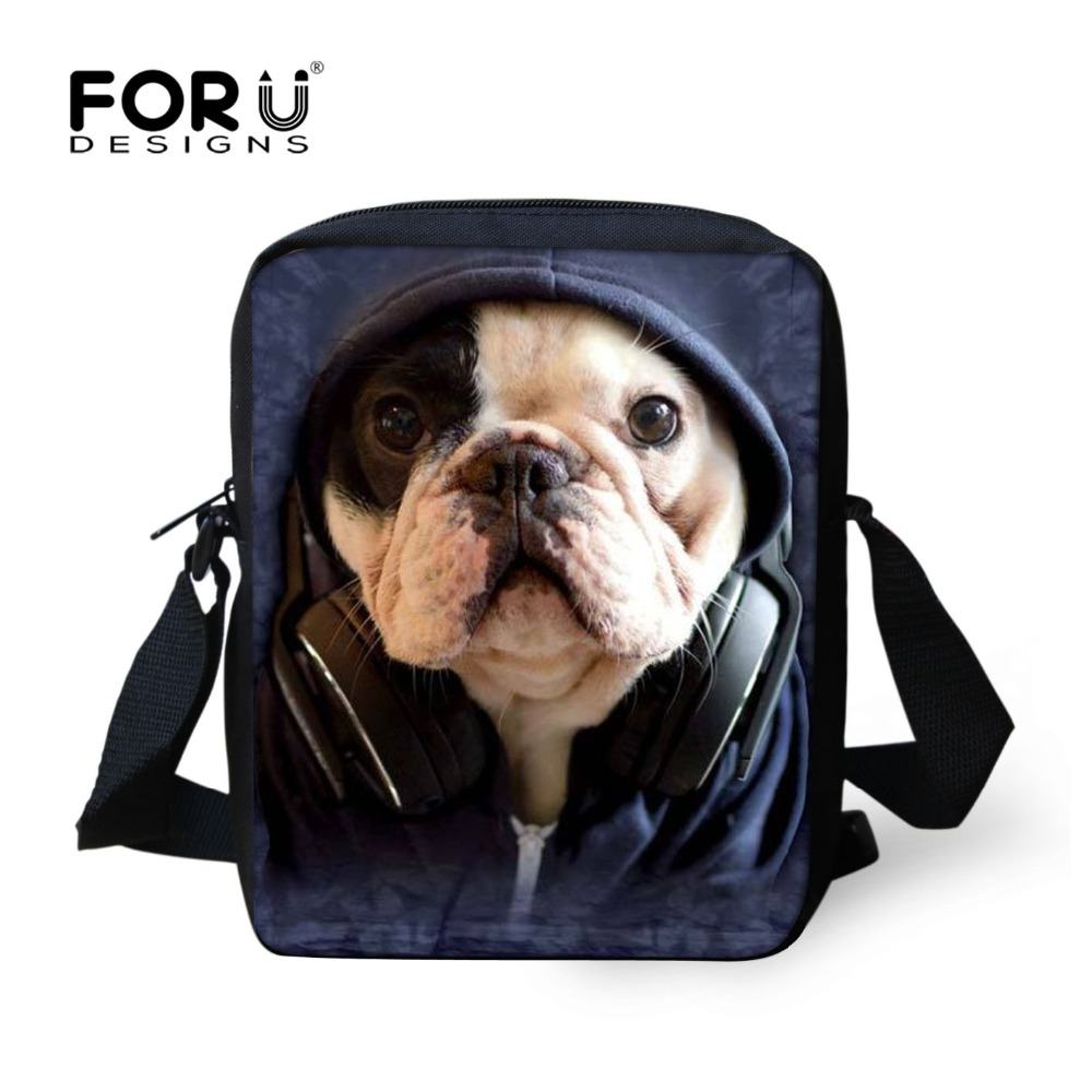 Fashion Animal School Bags Boys Girls Small Children Book Bag 3D Pet Dog Bug Frenchie Schoolbag Kids Mochilas Escolar - KIDS FOR YOU,CO.,LTD store