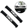 1 Pair Universal Car TIROL Oxford Car Roof Rack Pads Inflatable Padded Crossbar Roof Cover Luggage