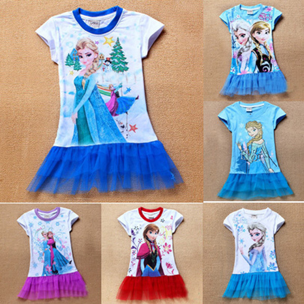 Designer Petite Clothing For Women baby girl elsa clothes infant