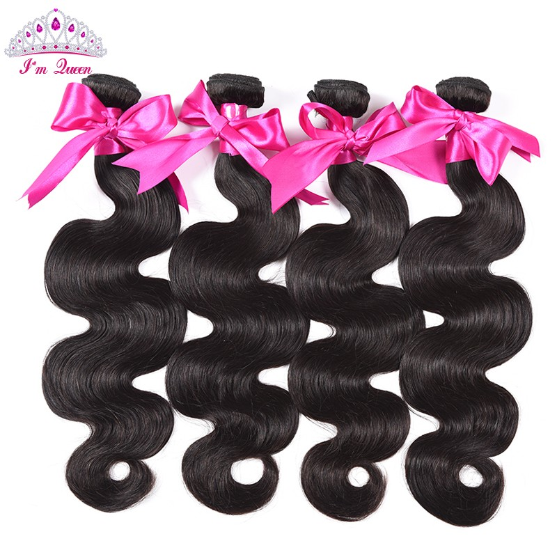 7A Malaysian Virgin Hair Malaysian Body Wave 4Bundles Rosa Hair Products Malaysian Body Wave Virgin Hair 100% Human Hair Soft