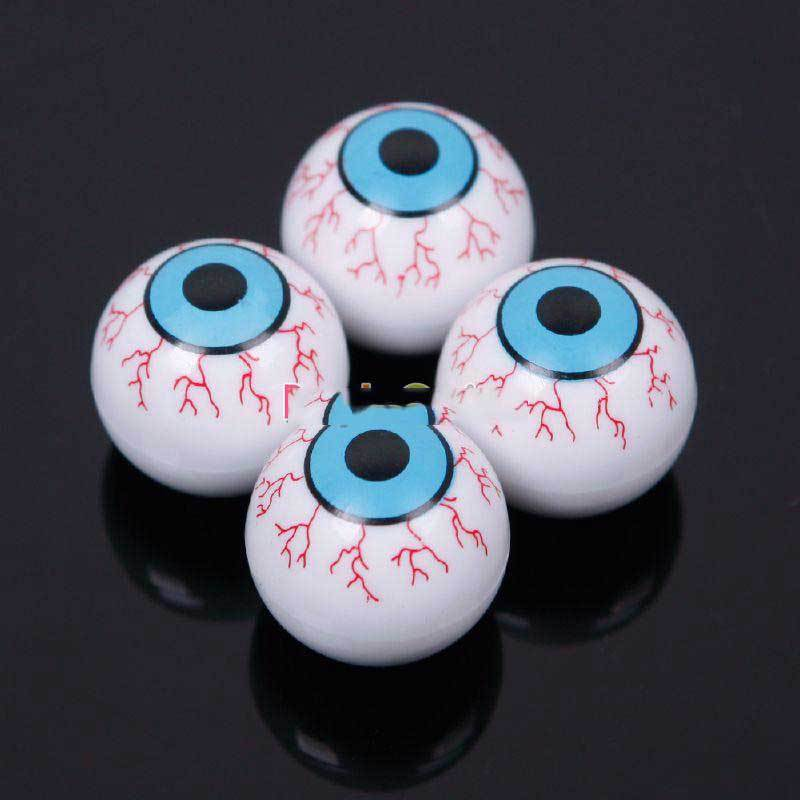 DigitaLine Market Blue Eye Ball Car Bike SUV Tire Wheel Air Dust Valve Stem Caps Covers(China (Mainland))