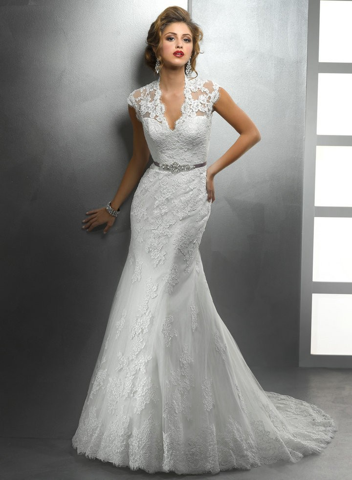 Buy new design vintage mermaid wedding for Wedding dresses with sashes