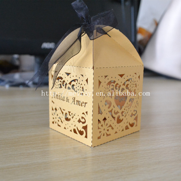Wedding Favors Wholesalewedding Cake Boxes Elegant White Ivory Gold In Cake Decorating Supplies