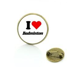 TAFREE di Marca 2017 nuovo arrivo di stile di sport di Giocare a Badminton spille donne degli uomini di modo di fascini badge pins gioielli regalo lettore SP333(China)