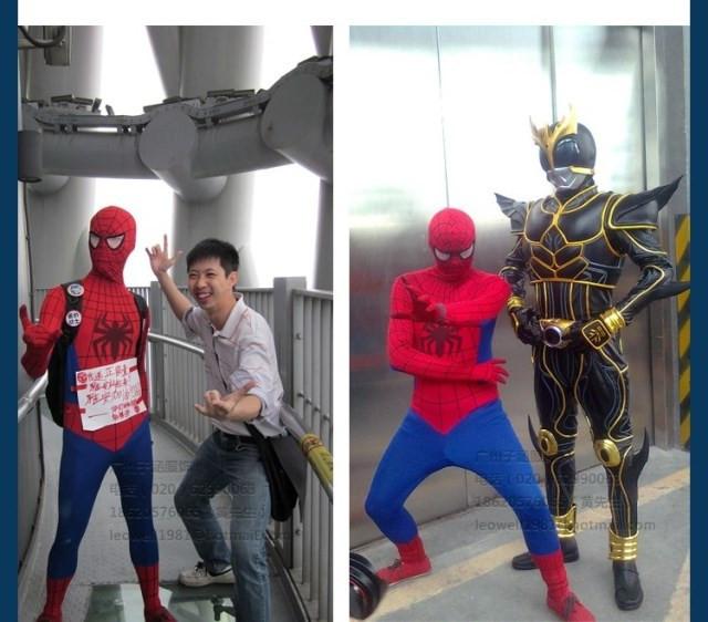 DB23580 Adult spiderman costume-15