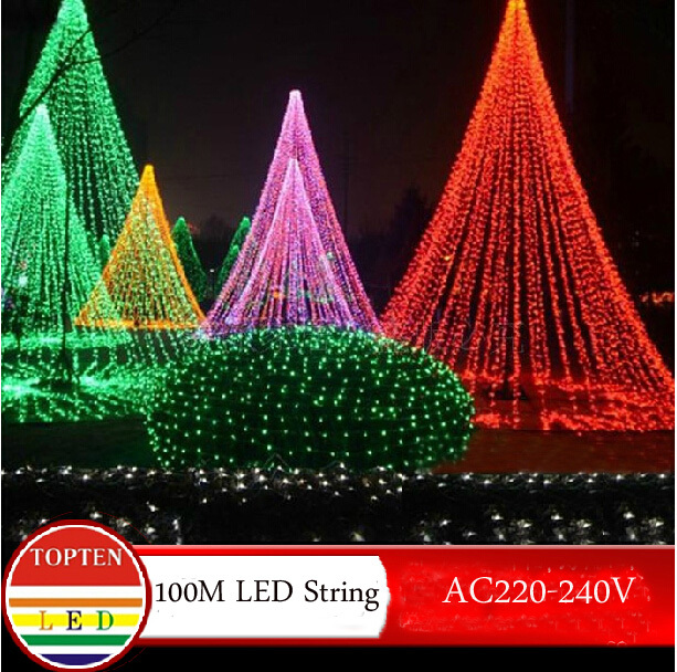 Christmas Novelty Lights Outdoor : Novelty 600 leds 100M flasher string Lighting for outdoor/ indoor Wedding Party christmas tree ...