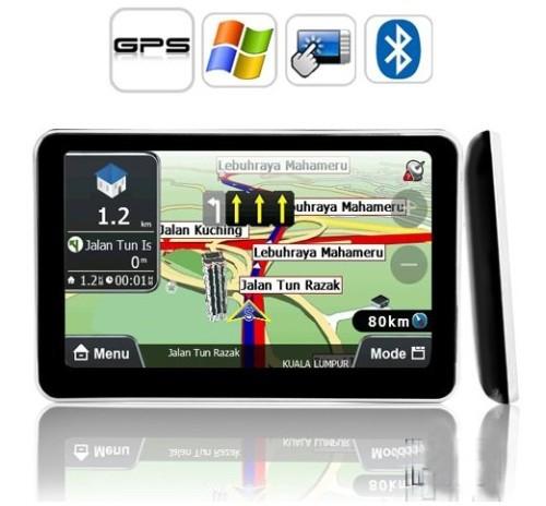 GPS-навигатор 5 GPS Nav Bluetooth + FM + av/+ gps навигатор dunobil clio 5 0