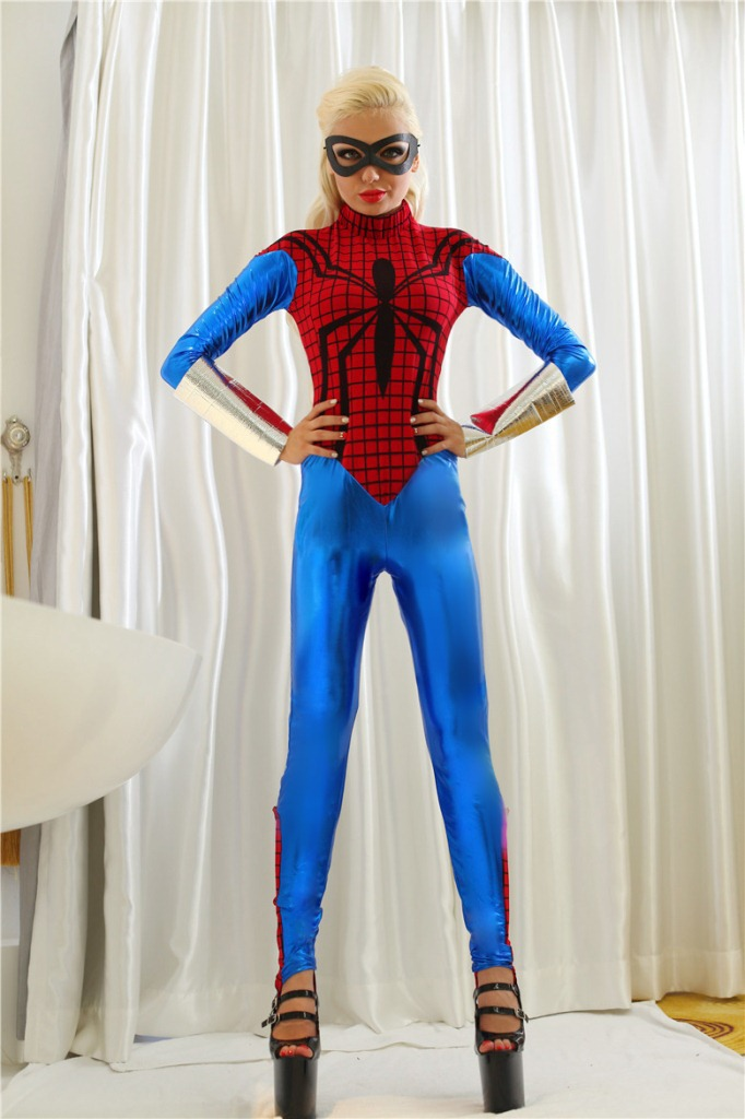 Marvel Superhero в ouch extreme mesh balaclavea with open ball gaga