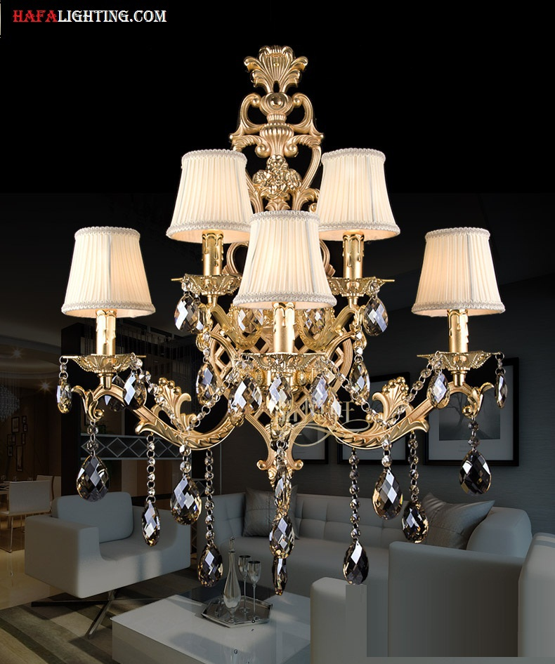 Compare Prices on Crystal Sconces Online ShoppingBuy Low Price – Chandelier Sconces Wall