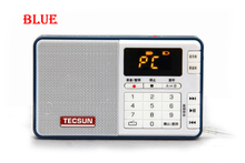 Free Shipping TECSUN Q3 FM Stereo Pocket Size Recorder MP3 Player Radio(China (Mainland))