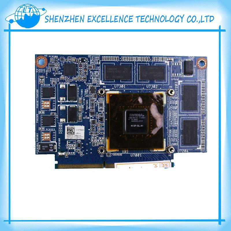 New For ASUS K55VM Graphic Card N13P-GL-A1 GT 630M 2GB K55VM GT630M Video card free shipping(China (Mainland))