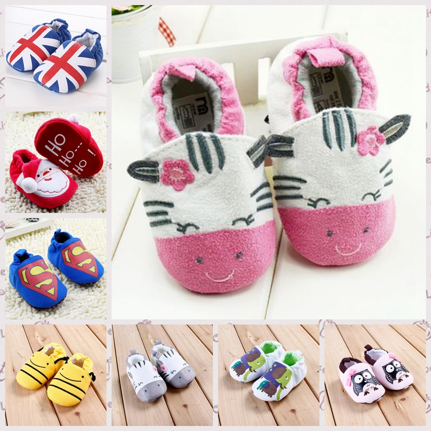 First Walker Baby Shoes 100 Cotton Baby Toddler Shoes Spiderman Infant Shoes Girls Boys Footwear batman