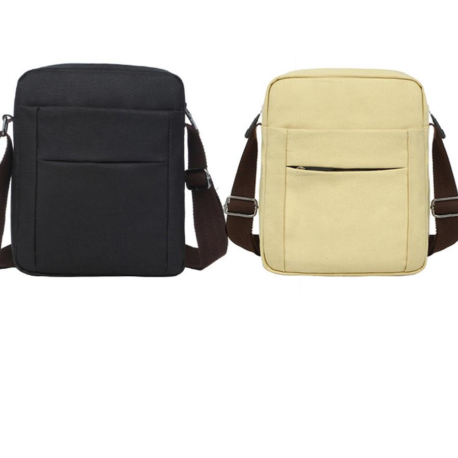 2016 Men Bag Fashion men' Shoulder Bags High Quality Canvas Casual Messenger Bag Business Men's Travel Bags CG04(China (Mainland))
