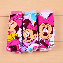 Children's Pants For girls Cartoon Mouse Infant Girl Panties Cotton Toddler Underwear Pink Boxer Shorts For Girls baby briefs