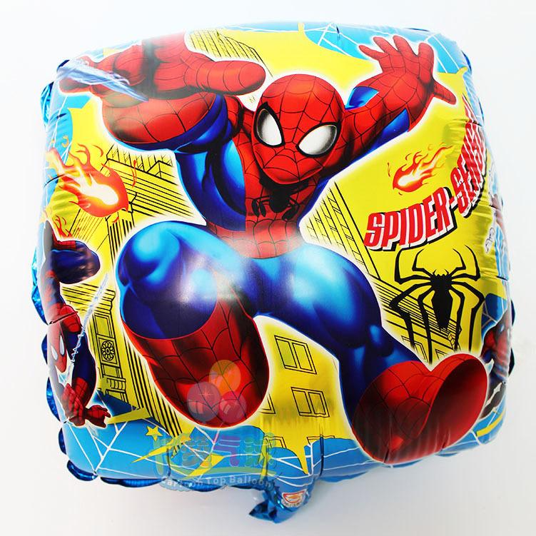 new arrivel helium balloon spiderman balloons cartoon mylar aluminium foil ballons for boys birthday party air globos baby toy