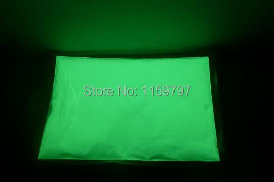 Free Shipping apple green luminous powder 500g/bag,decorating material,Glow Powder Paint(China (Mainland))