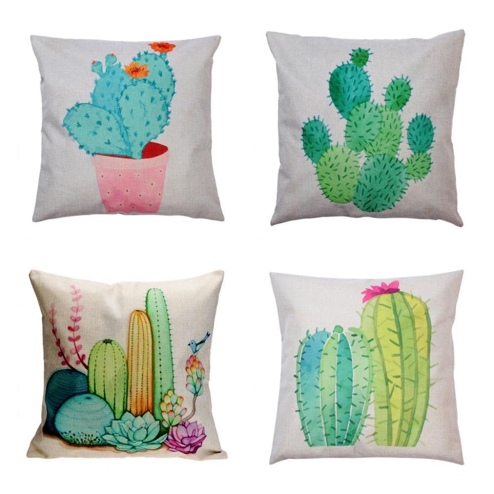 Vente en gros cactus jardin cadeau d 39 excellente qualit de for Gros coussin pour canape