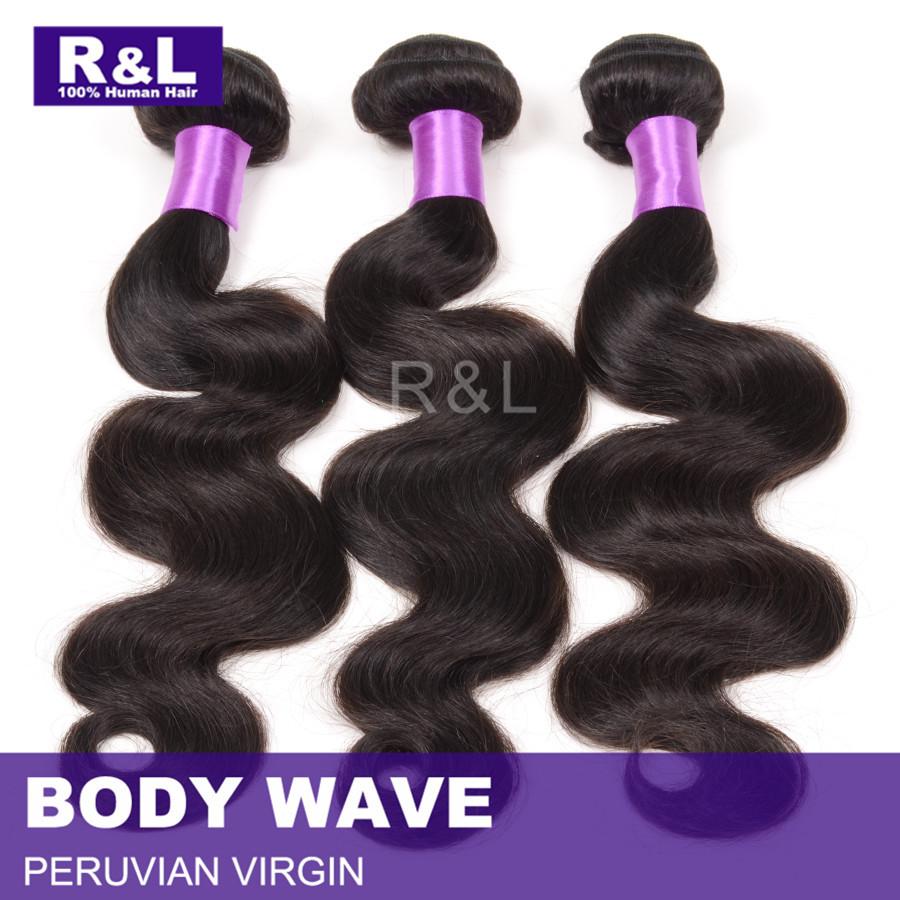 6A Peruvian virgin hair body wave hair extension 100% unprocessed raw Peruvian hair bundles 100 human hair miracurl 3pc lot<br><br>Aliexpress
