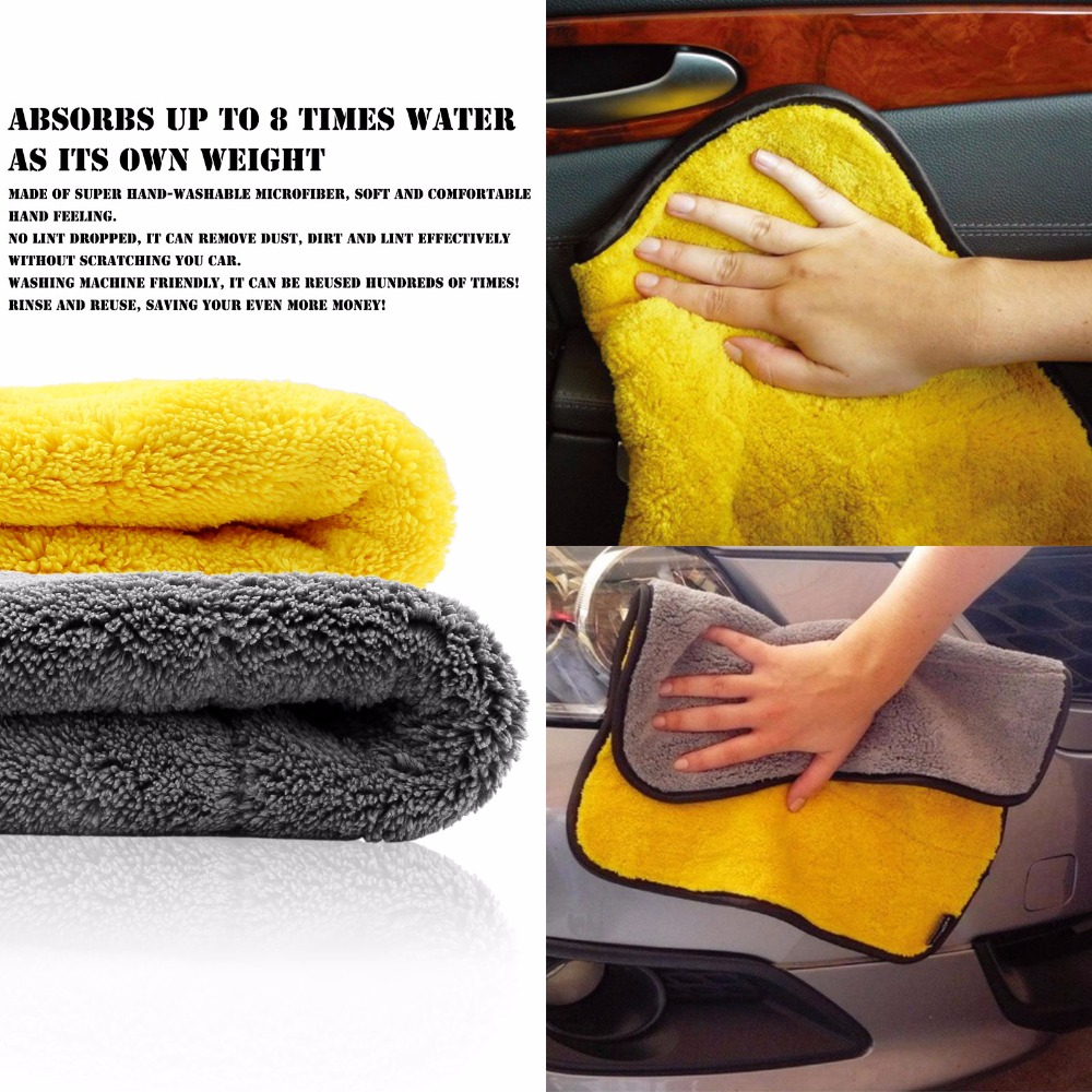45x38cm High Quality Soft Microfiber Towel Car Cleaning Wash Clean Cloth Car Care Microfibre Wax Polishing Detailing Towels 1PCS(China (Mainland))